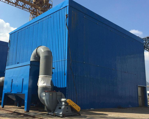 风力回收喷砂房